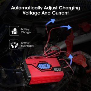 Suaoki Chargeur de Batterie pour Voiture 4 Ampères 612V