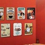 Comparatif meilleur plaque murale déco vintage