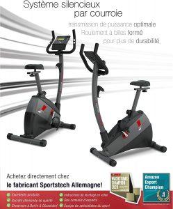 vélo d'appartement de qualité SportsTech ESX500