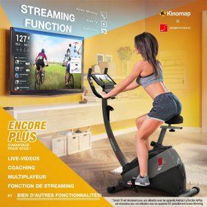 vélo d'appartement haut de gamme SportsTech ESX500
