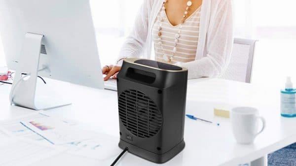 Test radiateur en céramique Comlife