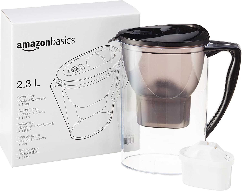 Carafe filtrante Amazon Basics