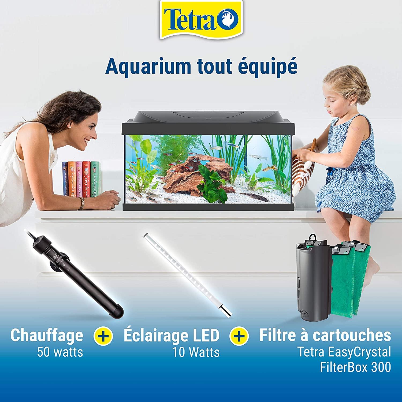 Aquarium complet pour débutants Tetra Starter Line