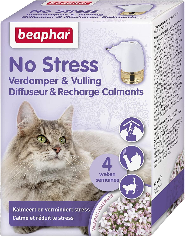 Diffuseur de phéromones pour chat Beaphar No Stress