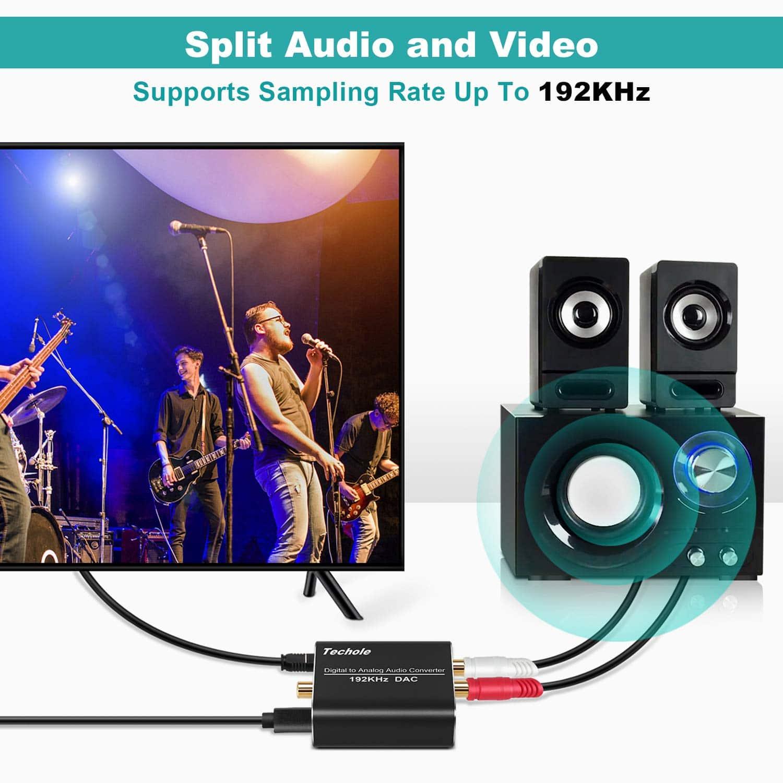 DAC audio Techole 192kHz