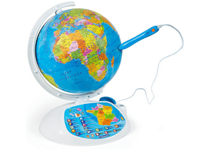 Test et avis sur le globe terrestre interactif Clementoni Exploraglobe